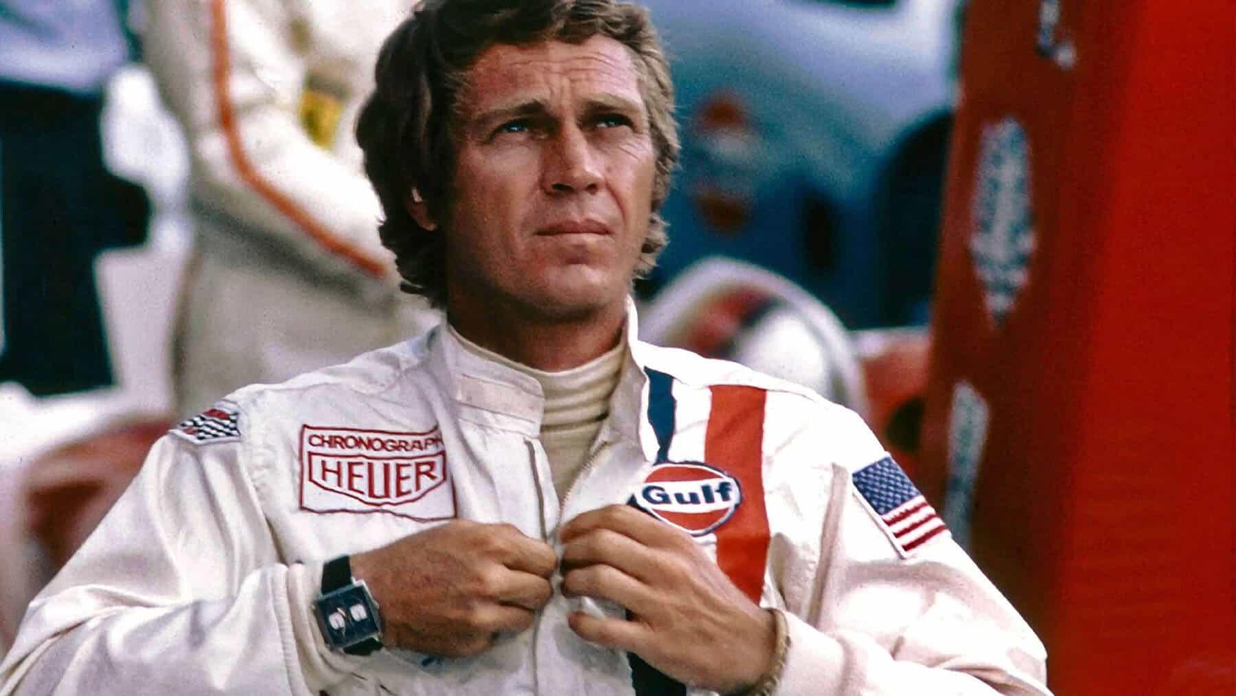 Steve McQueen - Le Mans - Tag Heuer - Monoca
